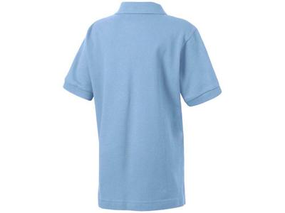 Рубашка поло «Forehand» детская, голубой ( 14 )