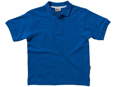 Рубашка поло «Forehand» детская, классический синий ( 6 )