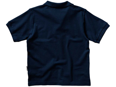 Рубашка поло «Forehand» детская, темно-синий ( 8 )