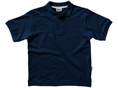 Рубашка поло «Forehand» детская, темно-синий ( 10 )