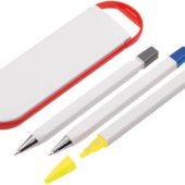 Набор «Квартет»: ручка шариковая, карандаш и маркер в футляре, арт. 000704603