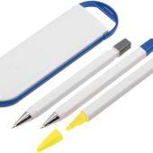 Набор «Квартет»: ручка шариковая, карандаш и маркер в футляре