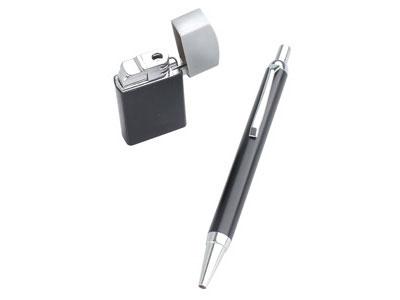 Набор: шариковая ручка, зажигалка, арт. 000521103