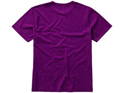 Футболка «Nanaimo» мужская, темно-фиолетовый ( L )