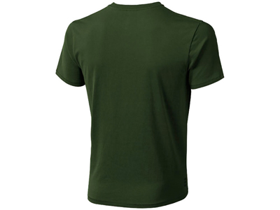 Футболка «Nanaimo» мужская, армейский зеленый ( S )