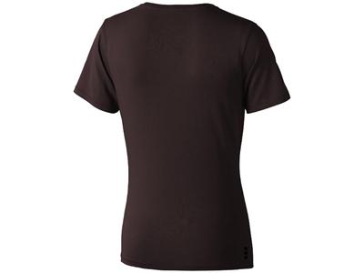 Футболка «Nanaimo» женская, шоколадный коричневый ( L )