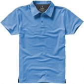 """Рубашка поло """"Markham"""" мужская, голубой/антрацит ( S ), арт. 001948703"""