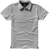 """Рубашка поло """"Markham"""" мужская, серый меланж/антрацит ( M )"""