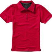 """Рубашка поло """"Markham"""" женская, красный/антрацит ( M )"""