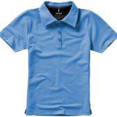 """Рубашка поло """"Markham"""" женская, голубой/антрацит ( XL ), арт. 001944003"""