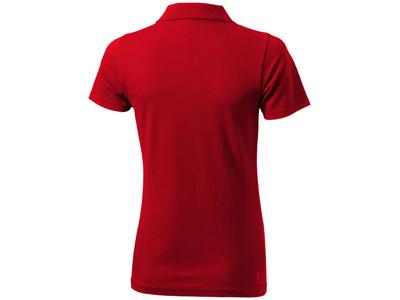 """Рубашка поло """"Seller"""" женская, красный ( S )"""
