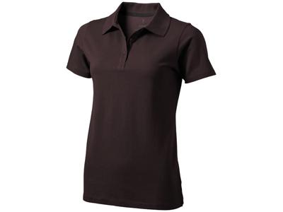 """c21662f6ce598 Рубашка поло """"Seller"""" женская, шоколадный коричневый ( XS ), арт ..."""