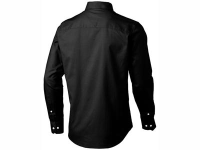 Рубашка «Vaillant» мужская с длинным рукавом, черный ( M )