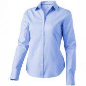 Рубашка «Vaillant» женская с длинным рукавом, голубой ( S )