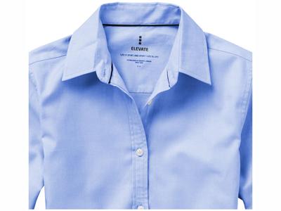 Рубашка «Vaillant» женская с длинным рукавом, голубой ( L )