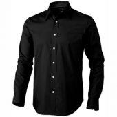 Рубашка «Hamilton» мужская с длинным рукавом, черный ( M )