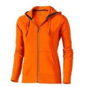 Свитер «Arora» женский с капюшоном, оранжевый ( 2XL )