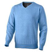 Пуловер «Spruce» мужской с V-образным вырезом, светло-синий ( M )