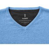 """Пуловер """"Spruce"""" мужской с V-образным вырезом, светло-синий ( 3XL ), арт. 001462403"""