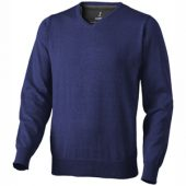 Пуловер «Spruce» мужской с V-образным вырезом, темно-синий ( S )