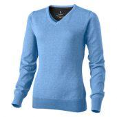 """Пуловер """"Spruce"""" женский с V-образным вырезом, светло-синий ( XS ), арт. 001464303"""