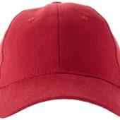 """Бейсболка """"Bryson"""", 6 панелей, красный, арт. 001683603"""