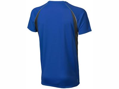 """Футболка """"Quebec Cool Fit"""" мужская, синий ( S )"""