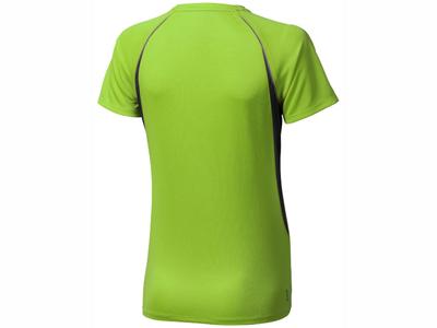 Футболка «Quebec Cool Fit» женская, зеленое яблоко ( S )