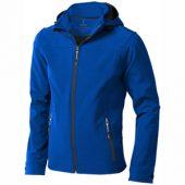 Куртка софтшел «Langley» мужская, синий ( L )