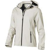 Куртка софтшел «Langley» женская, светло-серый ( XS )