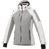 "Куртка ""Ozark"" женская, серый/белый ( XL ), арт. 001630403"
