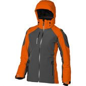 Куртка «Ozark» женская, серый/оранжевый ( XL )