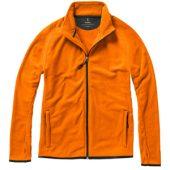 """Куртка флисовая """"Brossard"""", мужская, оранжевый ( L ), арт. 001904203"""