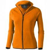 Куртка флисовая «Brossard», женская, оранжевый ( L )