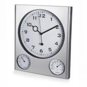 Погодная станция настенная: часы, термометр, гигрометр, арт. 000364103