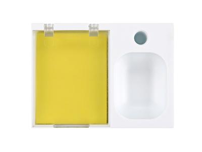 Подставка под ручку и скрепки с бумажным блоком