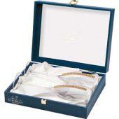 Бокалы для шампанского с кристаллами Swarovski Chinelli, арт. 000359203