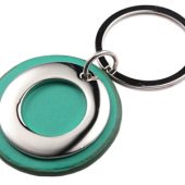 "Брелок ""Корал-Спрингс"", зеленый/серебристый, арт. 000664103"