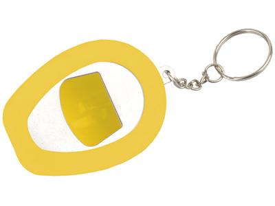 """Брелок-открывалка """"Каска"""", желтый, арт. 000518803"""