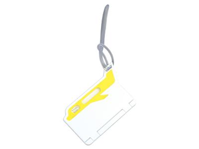 Бирка для багажа,желтый, арт. 000990803