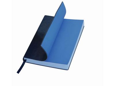 Ежедневник А5 «Soft Line», синий. Lettertone