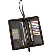 Портмоне дорожное с отделениями для авиабилетов и кредитных карт с наручным ремешком на молнии, арт. 000189803
