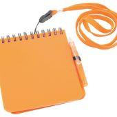 Блокнот с ручкой на ремешке