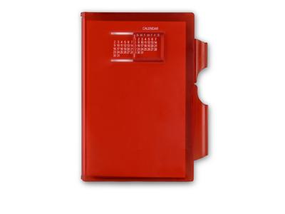 Записная книжка «Альманах» с ручкой, красный