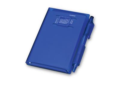 Записная книжка «Альманах» с ручкой, синий