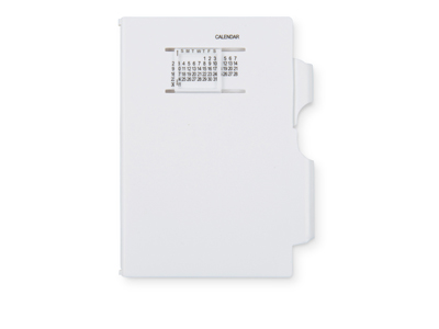 Записная книжка «Альманах» с ручкой, белый