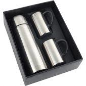 Набор: термос на 1000 мл, 2 кружки на 300 мл, арт. 000585403