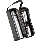 Термос на 1000 мл, 2 кружки на 300 мл в дорожной сумке, арт. 000214603
