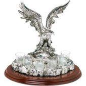 Настольный набор для водки «Орел», арт. 001294003
