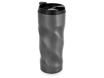 Кружка с термоизоляцией на 450 мл, серый, арт. 001515303